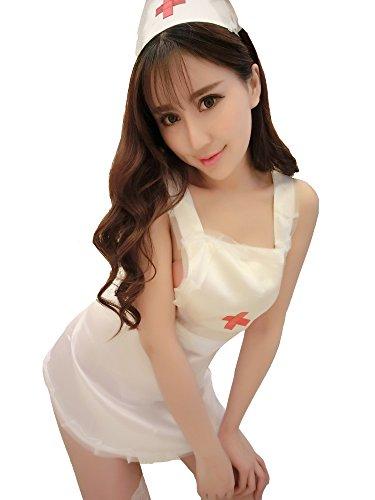 Yinglite-Uniformes-tentation-infirmire-Costume-daide-soignante-nurse-uniform-Infirmiere-htesse-de-lair-police-lapin-femme-de-chambre-Masquerade-Vtements-Costumes-dHalloween