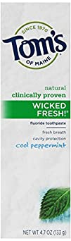 Toms of Maine Wicked Toothpaste Peppermint 4.7 oz