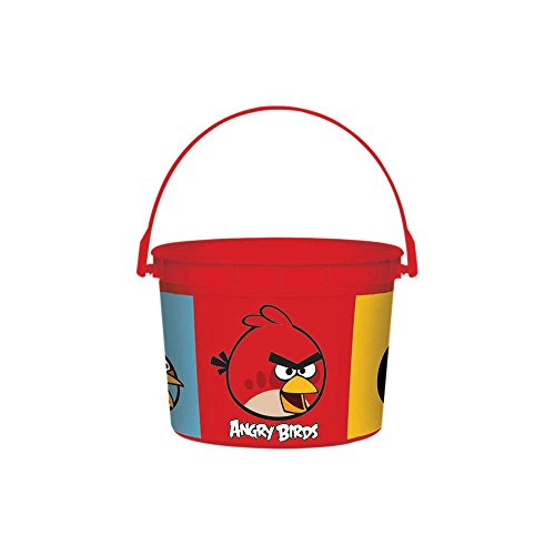 Amscan BB103010 Angry Birds Bucket