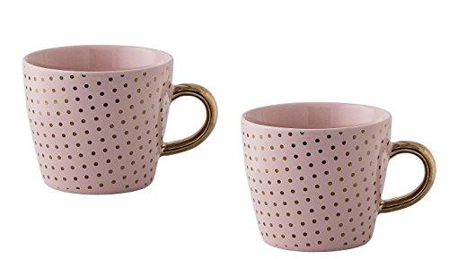 Kaffeetasse Kaffeebecher Henkeltasse HENRIETTA MUG 2er Set Bloomingville