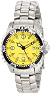 Momentum Womens 1M-DV01Y0 M1 Yellow Dial Stainless-Steel
