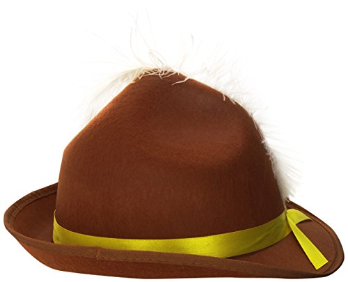 Smiffys Men's Brown Bavarian Hat - One Size