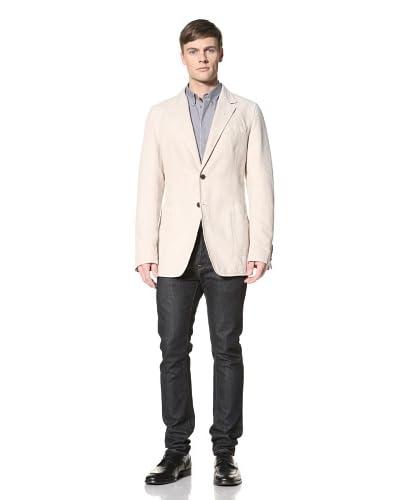 Gucci Men's Pique Blazer  [Ivory]