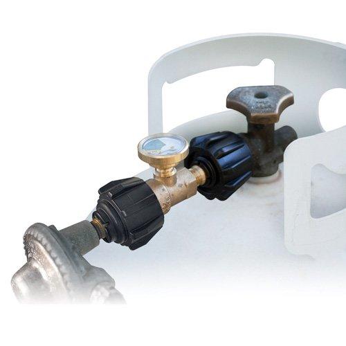 YSN Imports YSN-212 Propane Gas Meter with Glow-in-the-Dark Dial