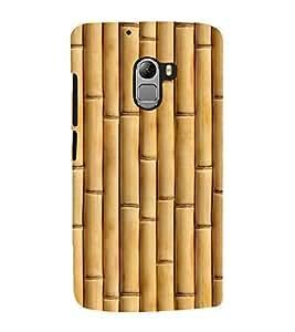 printtech Wooden Bamboo Design Back Case Cover for Lenovo Vibe X3 Lite