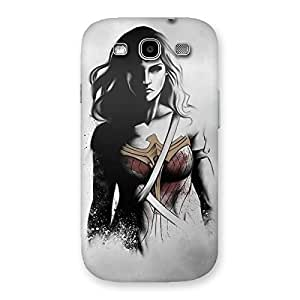 Stylish Wonderful Girl Multicolor Back Case Cover for Galaxy S3 Neo