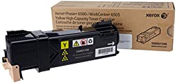 XEROX 106R01596 Yellow High Capacity Toner Cartridge FOR Phaser 6500/WC 6505