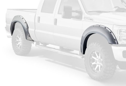 Bushwacker Ford Pocket Style Fender Flare Set of 4 (2013 F250 Fender Flares compare prices)