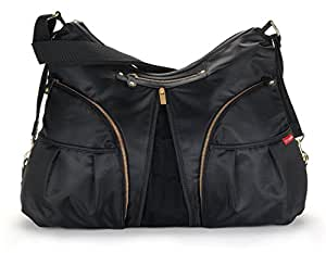 buy skip hop versa diaper bag black online at low prices. Black Bedroom Furniture Sets. Home Design Ideas