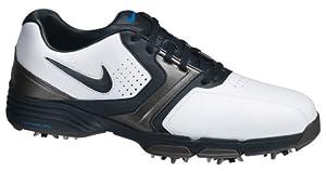 Nike Golf - Chaussures Hommes - NIKE LUNAR SADDLE blanc/noir - pointure 42 UK 7.5