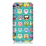 Ecell - HEAD CASE KAWAII GREEN OWL PATTERNED BACK CASE FOR LG OPTIMUS BLACK P970