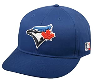 Toronto Blue Jays YOUTH Cap (NEW CF2 Flat or Curved Visor) MLB Adjustable Major League Baseball Replica Hat