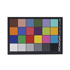 Amazon.com : CameraTrax 24 ColorCard 2x3 with 12 percent White Balance