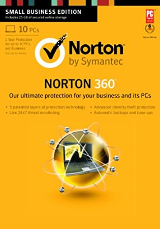 Norton 360 2013 Small Business Edition - 10 Users [Download]