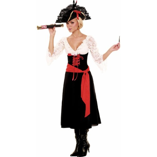 High Seas Vixen Costume - Large - Dress Size 10-14