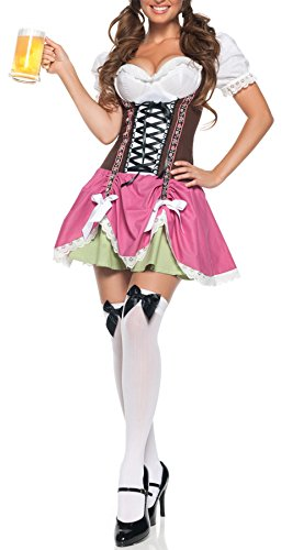 Moonight Women's Halloween Beer Girl Madien Cosplay Costume