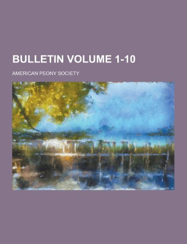 Bulletin Volume 1-10