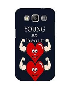 Mobifry Back case cover for Samsung Galaxy Grand Quattro I8552 Mobile ( Printed design)