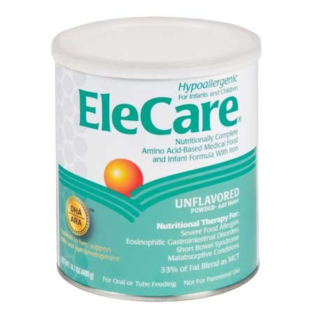 EleCare Amino Acid-Based Medical Food and Infant Formula With Iron and DHA and ARA