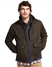 North Coast Funnel Neck Pigment Jacket
