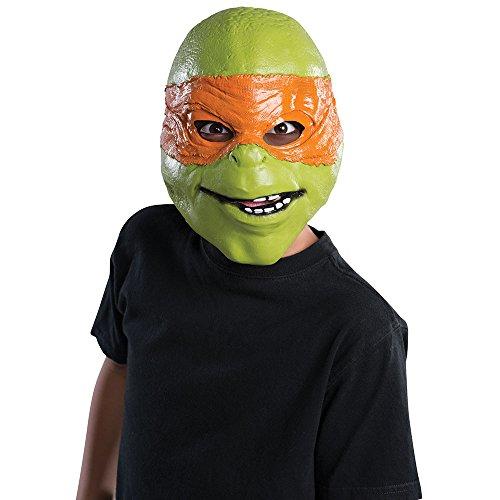 Rubies Teenage Mutant Ninja Turtles Movie Michelangelo Child 3/4 Mask - 1