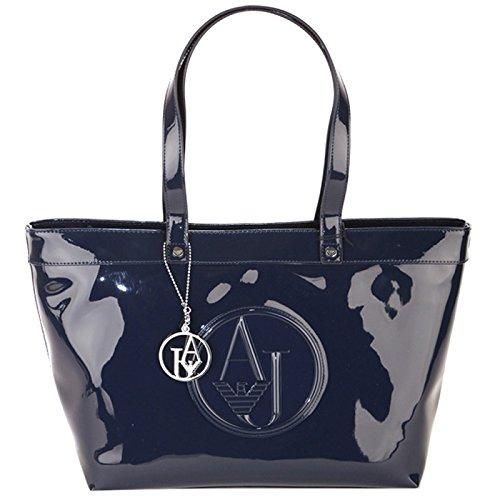 BORSA ARMANI JEANS SHOPPING BAG IN VERNICE 922505