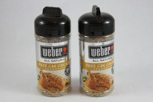 Weber Grill Beer Can Chicken Seasoning, 5.5 oz (Pack of 2) (Beer Can Chicken Seasoning compare prices)