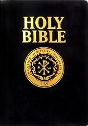 Catholic Scripture Study Bible RSV-CE Large Print