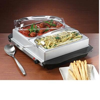 Cheap 2 Section Buffet/Warming Tray (BCD554)