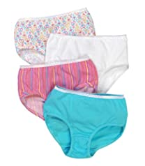 Fruit of the Loom Girls' 12pk Cotton Brief