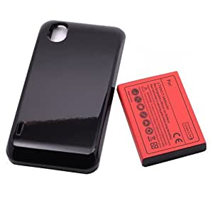 YESGOSHOP 3800mAh New Extended Battery+Back Cover for LG Ignite LG Optimus Black L85C P970 Phone