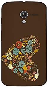 Timpax protective Armor Hard Bumper Back Case Cover. Multicolor printed on 3 Dimensional case with latest & finest graphic design art. Compatible with Motorola Moto -X-1 (1st Gen )Design No : TDZ-21927