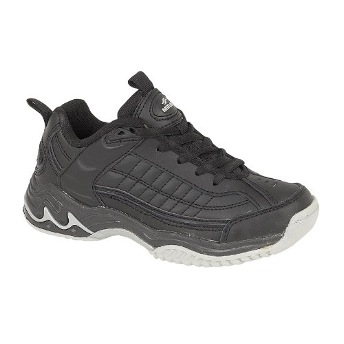 Mirak Lace-Up Textile Lined Sports - Black - Size 46