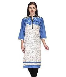 BPT Stylish Casual Wear Printed Woman's Kurti ( Size L / 40 Chest)