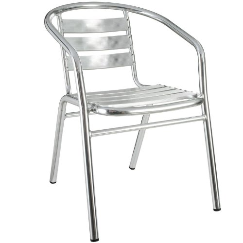 Lexmod Perch Modern Aluminum Indoor/Outdoor Accent Chair