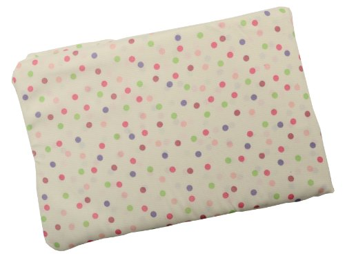 Comfy Baby Super Soft Microfiber Fitted Bassinet Sheet (Circus Dots) - 1
