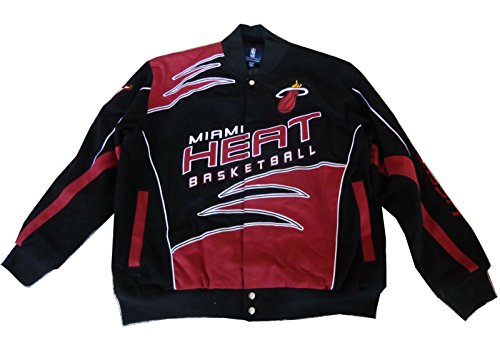 Miami heat leather jacket