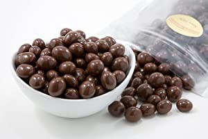 Milk Chocolate Covered Espresso Beans (1 Pound Bag)