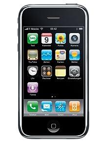 Apple iPhone 3G Smartphone (8,9 cm (3,5 Zoll) Display, Touchscreen, 3 Megapixel Kamera, 8GB interne Speicher) schwarz
