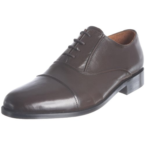 JG Men's Dave Dark Brown Leather Lace Up 1047 9 UK