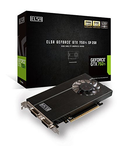 ELSA NVIDIA GeForce GD750Ti 2GB グラフィックボード GD750-2GERTSP