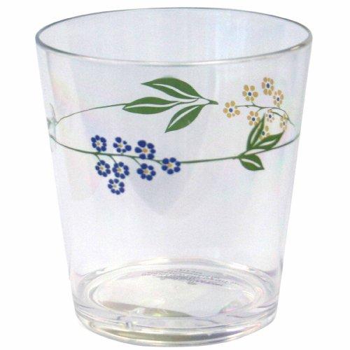 Corelle Coordinates Secret Garden 14-Ounce Acrylic Glass, Set of 6
