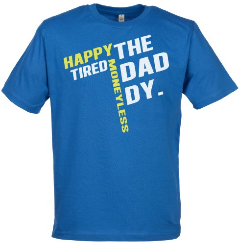 Spoilt Rotten - The Daddy Men'S T-Shirt - Gift For Dad, Blue, Xxl