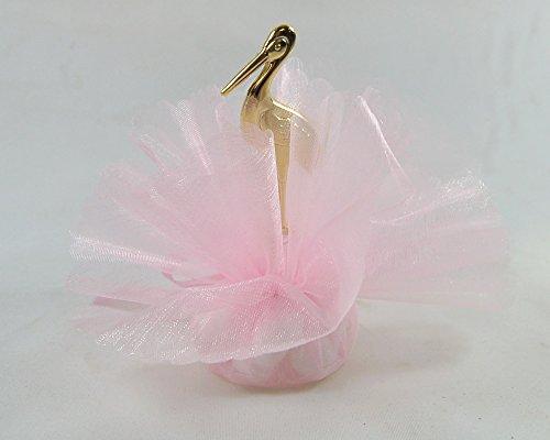 10 st ck gastgeschenk bonboniere rosa geschenk zur taufe. Black Bedroom Furniture Sets. Home Design Ideas