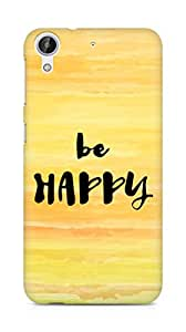 AMEZ be happy Back Cover For HTC Desire 626 LTE