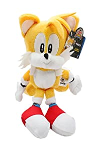 "Jazwares Sonic The Hedgehog Plush - 9"" Classic Tails"