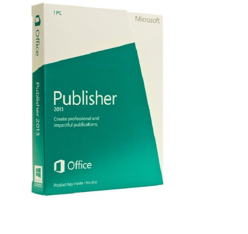 Publisher 2013 French (1PC/1 User) (PC Key Card)