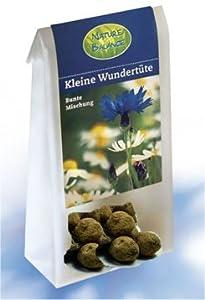 3 Saatkugeln - Blumensaatkugeln im Beutel - kleine Kräuterfeen