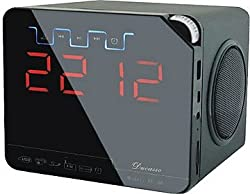 Ducasso Black Boy MultiMedia Speaker with USB,SD, RADIO Clock& REMOTE