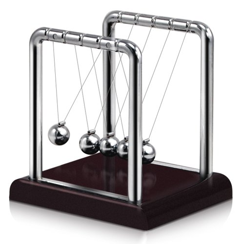 LE Newton's Cradle, Metal Balance Ball - 1